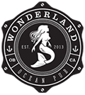 Logo for Wonderland Ocean Pub