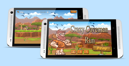 Crazy Caveman Run