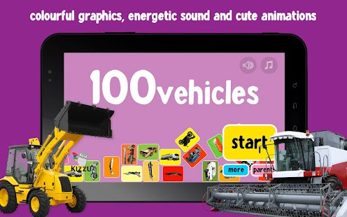 100 Vehicles Words for Babies - screenshot thumbnail