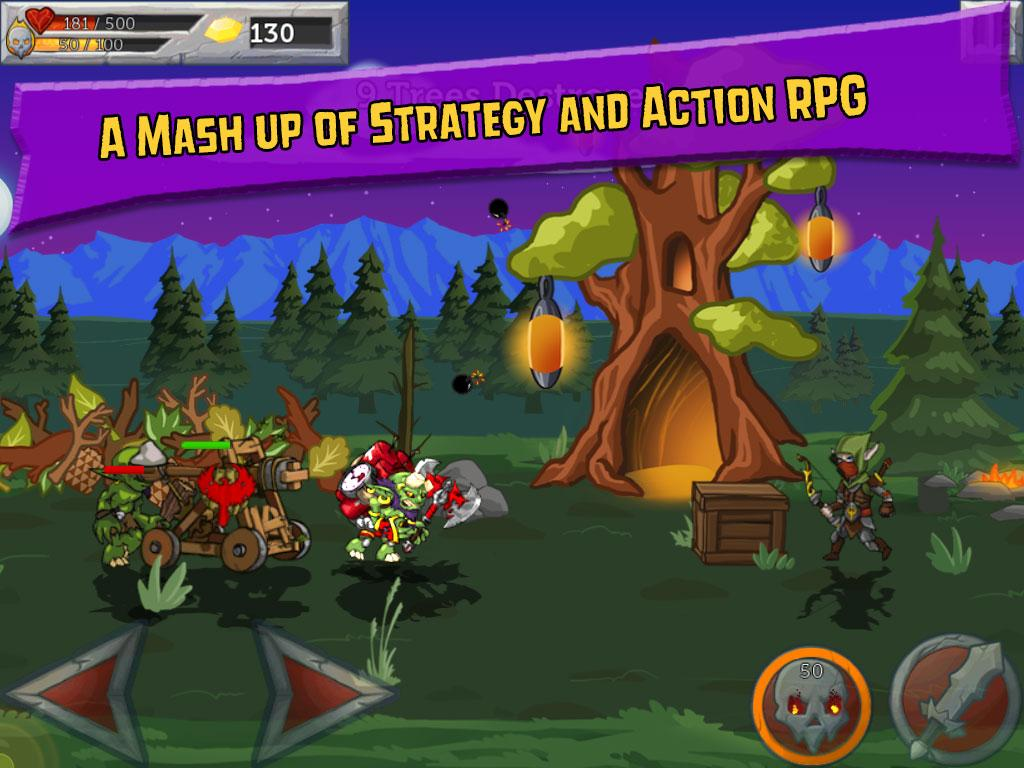 Monster Wars- screenshot