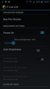 Screen Brightness Control Lite - screenshot thumbnail
