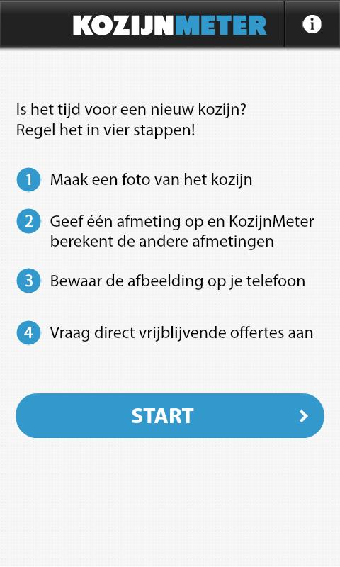 KozijnMeter - screenshot