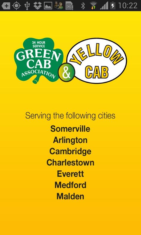 Green & Yellow Cab Somerville- screenshot