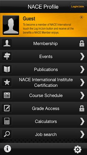 NACE Intl. Corrosion App