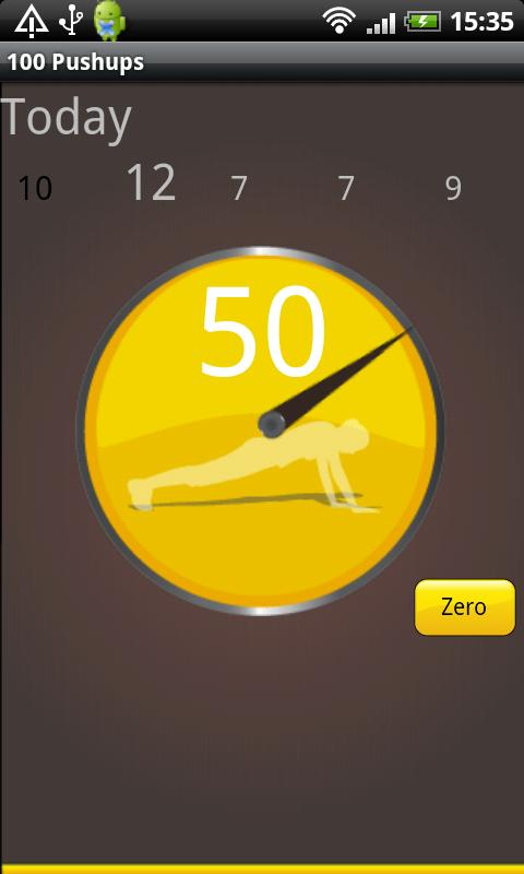 Hundred Pushups- screenshot