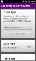 Screenshot of App Timer Mini Pro (ATMP)