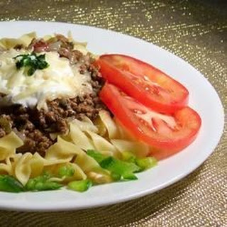 Ground Beef Mexican Style.