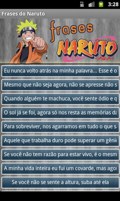 Frases Naruto - screenshot
