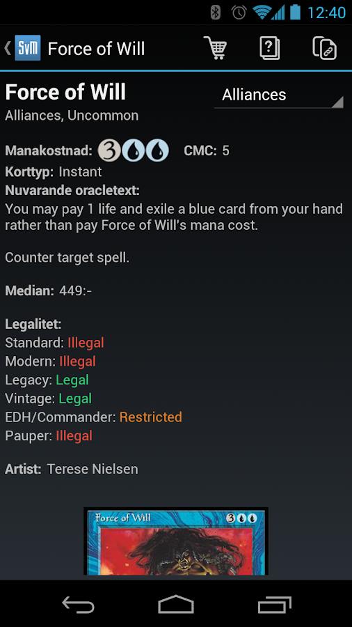 SvenskaMagic - screenshot