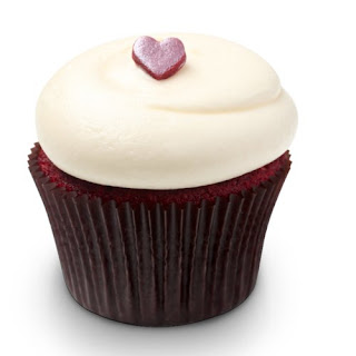 Georgetown Cupcake's Red Velvet Cupcakes with Vanilla Cream Cheese Frosting