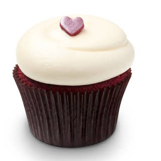 Georgetown Cupcake's Red Velvet Cupcakes with Vanilla Cream Cheese Frosting.