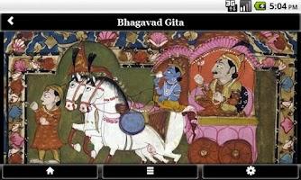 Screenshot of Bhagavad Gita FREE