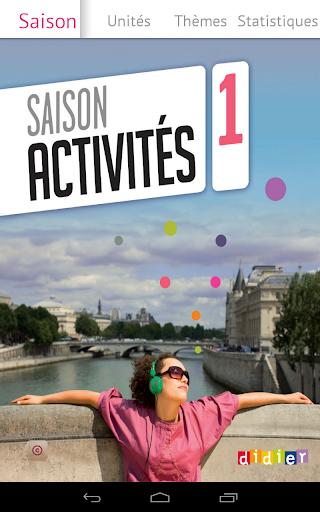 Saison 1 Activités en Français