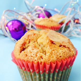 Clementine and Pomegranate Muffins.