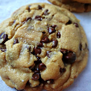Browned Butter, Salted,  Peanut Butter Chocolate Chip Cookies.