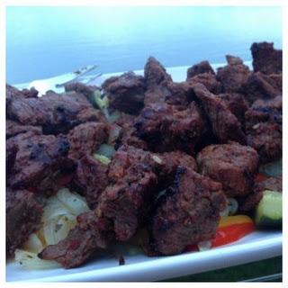 Moroccan Beef Kabob.