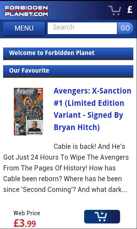 Forbidden Planet Store- screenshot