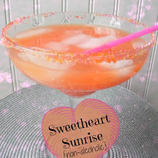Sweetheart Sunrise Drink {non-alcoholic}.