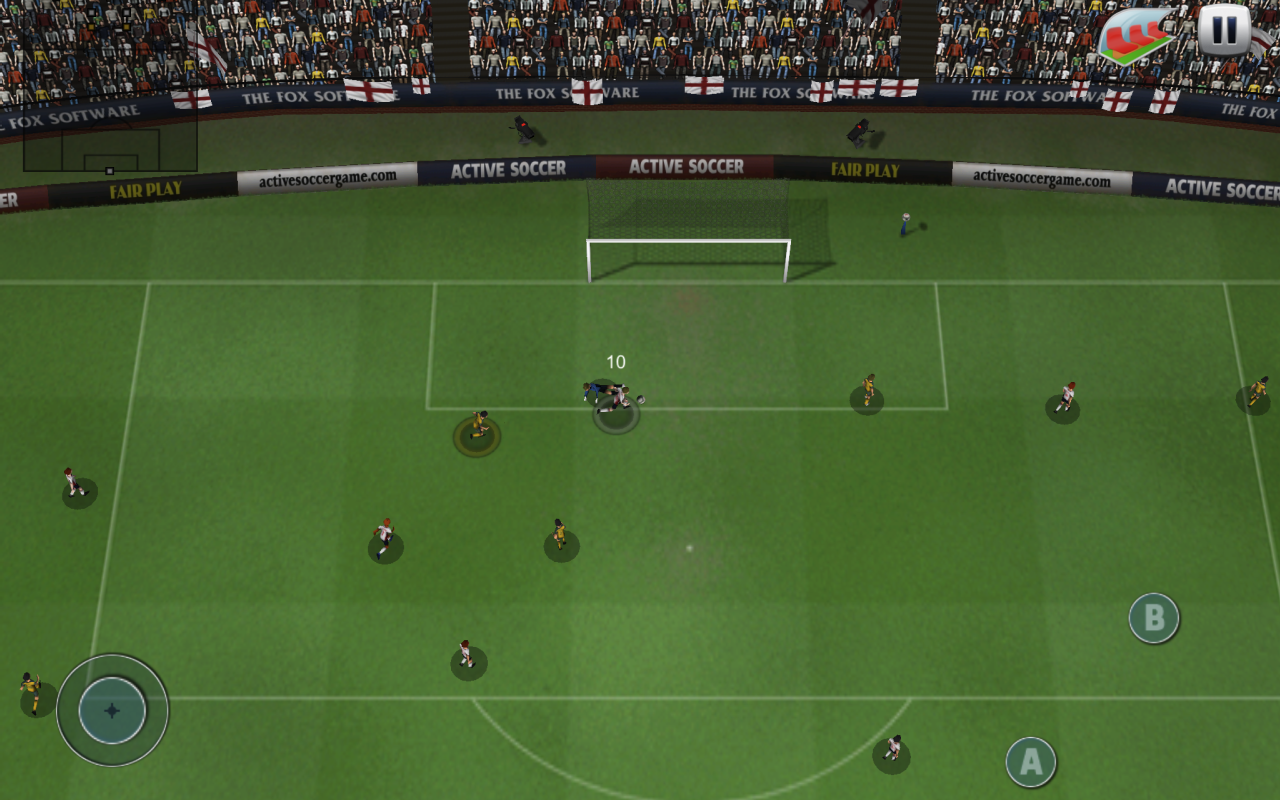 Active Soccer - screenshot