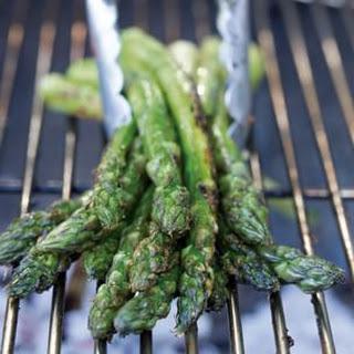Asparagus with Saffron Aioli
