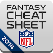NFL Fantasy Cheat Sheet 2014