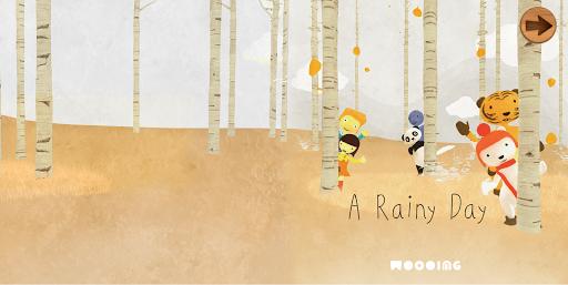 동화 앱북: A Rainy Day