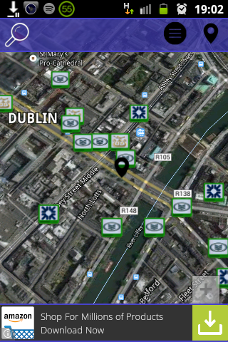 ATM Locator Ireland- screenshot