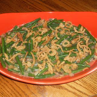 Green Bean Casserole with Madeira Mushrooms
