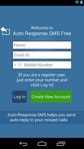 Auto-Response SMS Free
