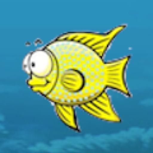卡通海洋世界:飢餓的魚 街機 App LOGO-硬是要APP