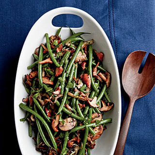 Sherried Green Beans and Mushrooms.