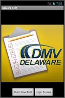 Screenshot of Delaware Practice Drivers Test