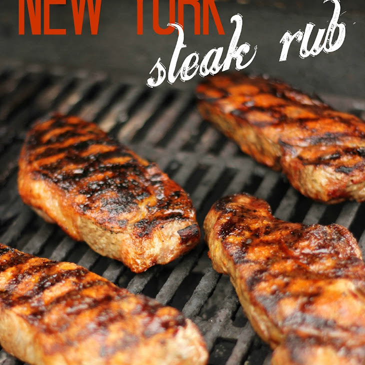 New York Steak Rub Recipe