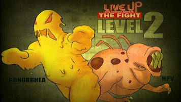 Screenshot of Live Up The Fight