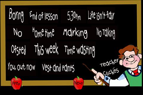 Teacher Cliches- screenshot