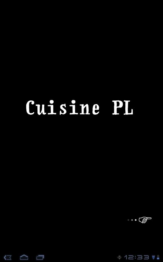 Cuisine PL - version française- screenshot