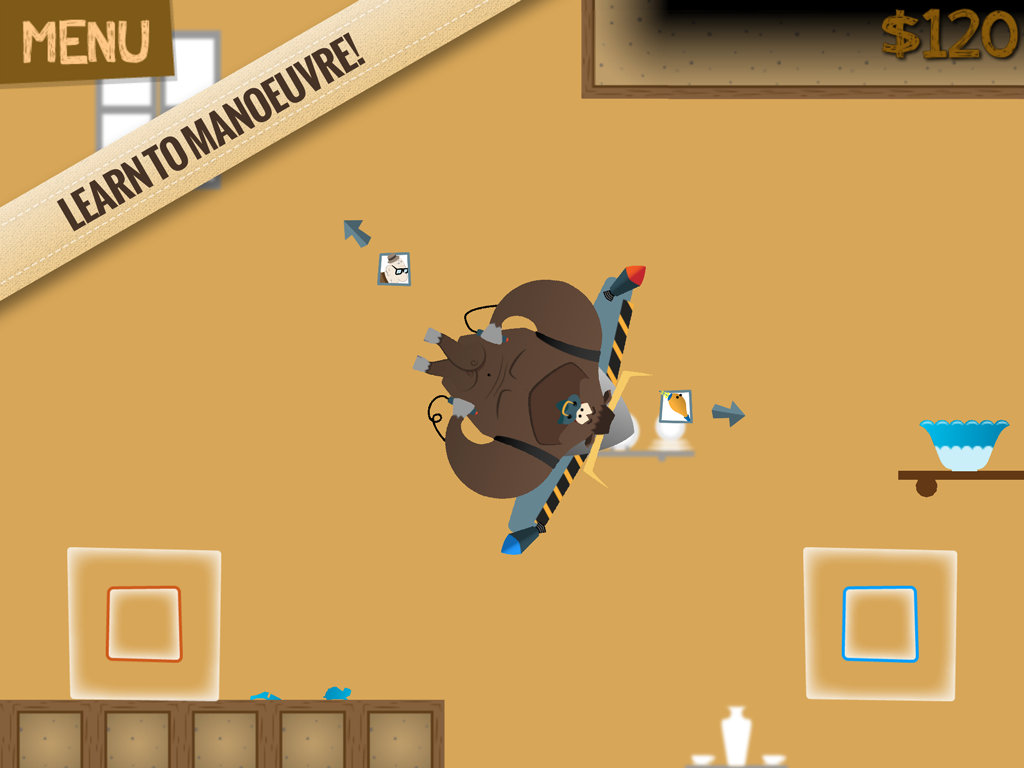Jetpack Bull In A China Shop- screenshot