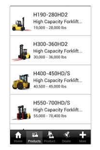 Hyster Forklifts - screenshot thumbnail
