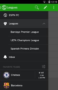ESPN FC Soccer Screenshot 19