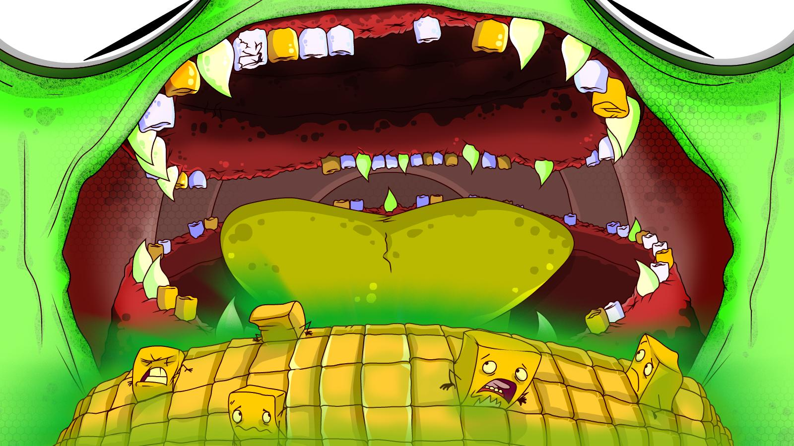 Terrible Teeth- screenshot