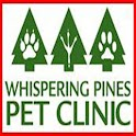 Whispering Pines Pet Clinic logo