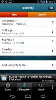 Screenshot of Everysport Scores