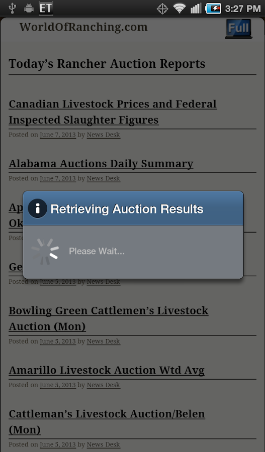 Today's Mobile Cattle Rancher- screenshot