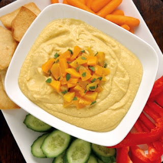 Peach-Ginger Hummus