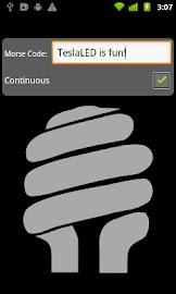 TeslaLED Flashlight Donate Screenshot 2