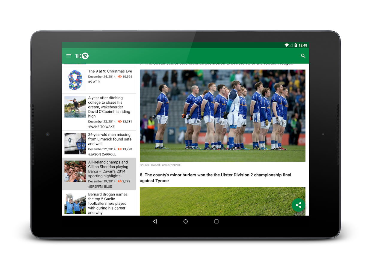 The42.ie Sports News - screenshot