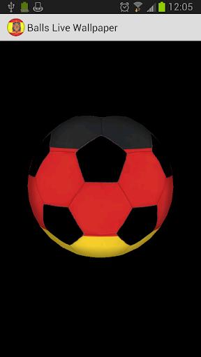 3D Ball Germany LWP