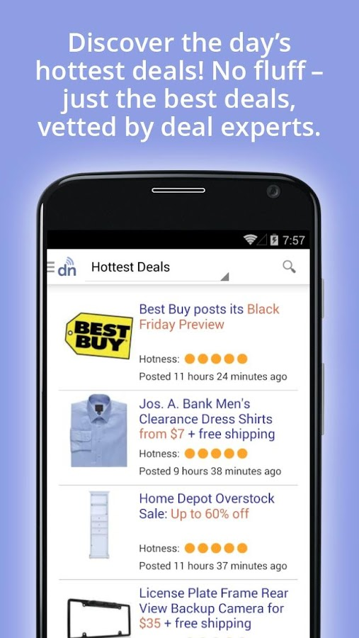 DealNews - Today's Best Deals - screenshot
