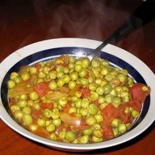 Curried Peas