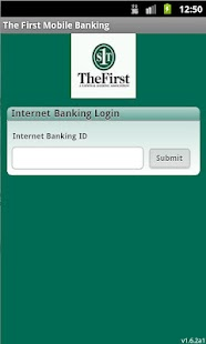 The First Mobile Banking - screenshot thumbnail